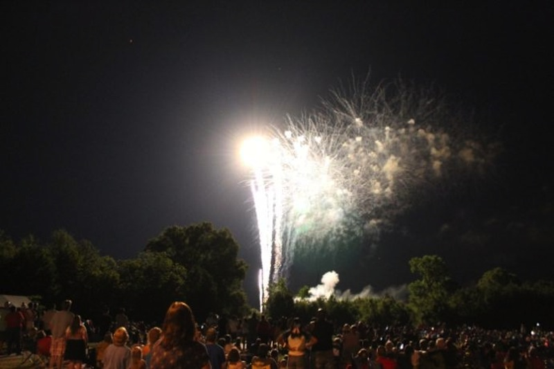 July 4th celebration at Knightdale Station