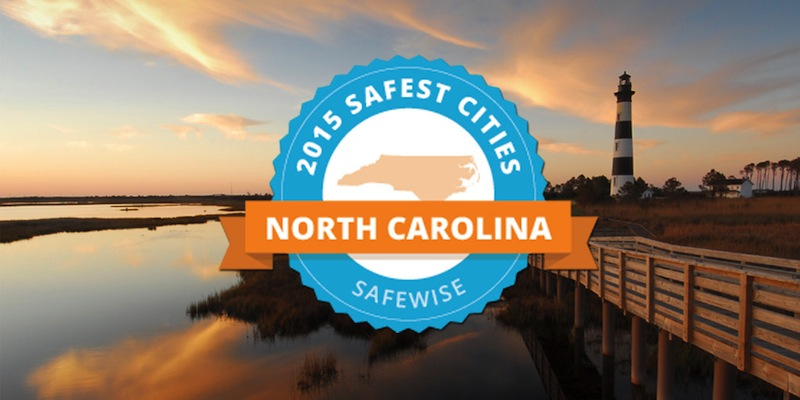 Safest Cities in North Carolina