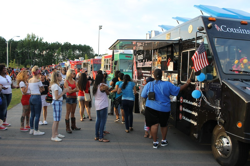 Food Truck Rodeo At The Station Knightdale Station