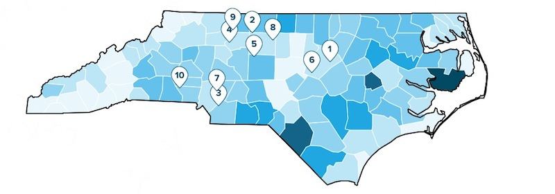 Most Affordable Town in NC