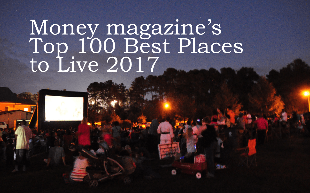 Knightdale ranks in money magazine s top 100 best places for Top us cities to live in 2017