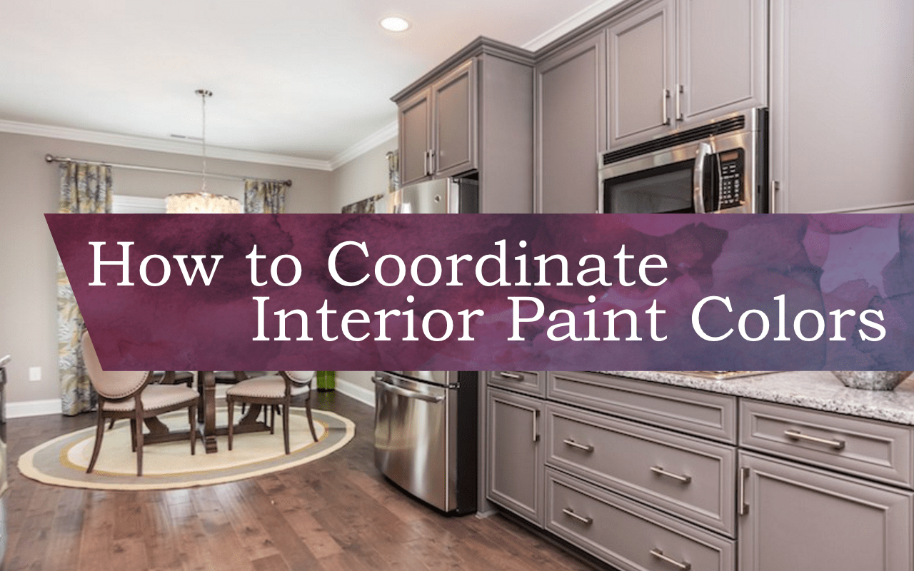 How To Coordinate Interior Paint Colors Knightdale Station