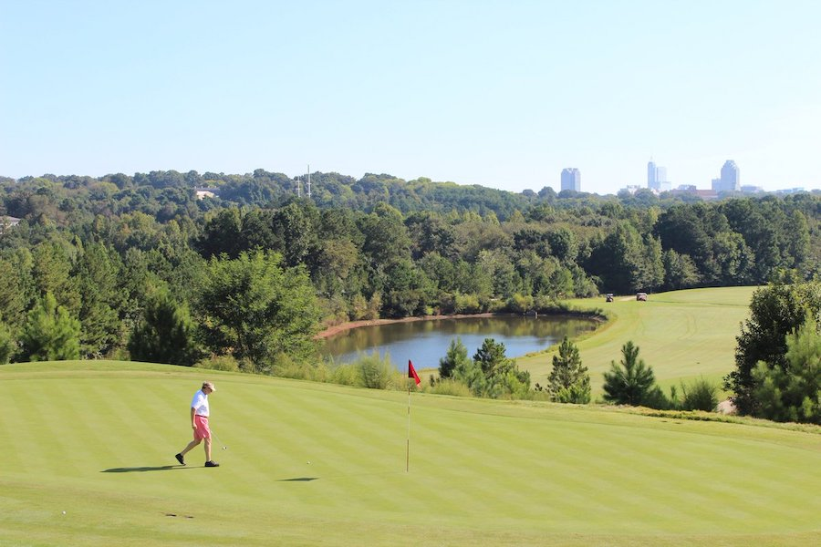 Best-Golf-Cities-in-US-Knightdale Station