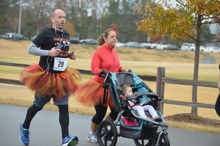 Active-Lifestyle-in-Knightdale-Turkey Leg 5K-Knightdale Station